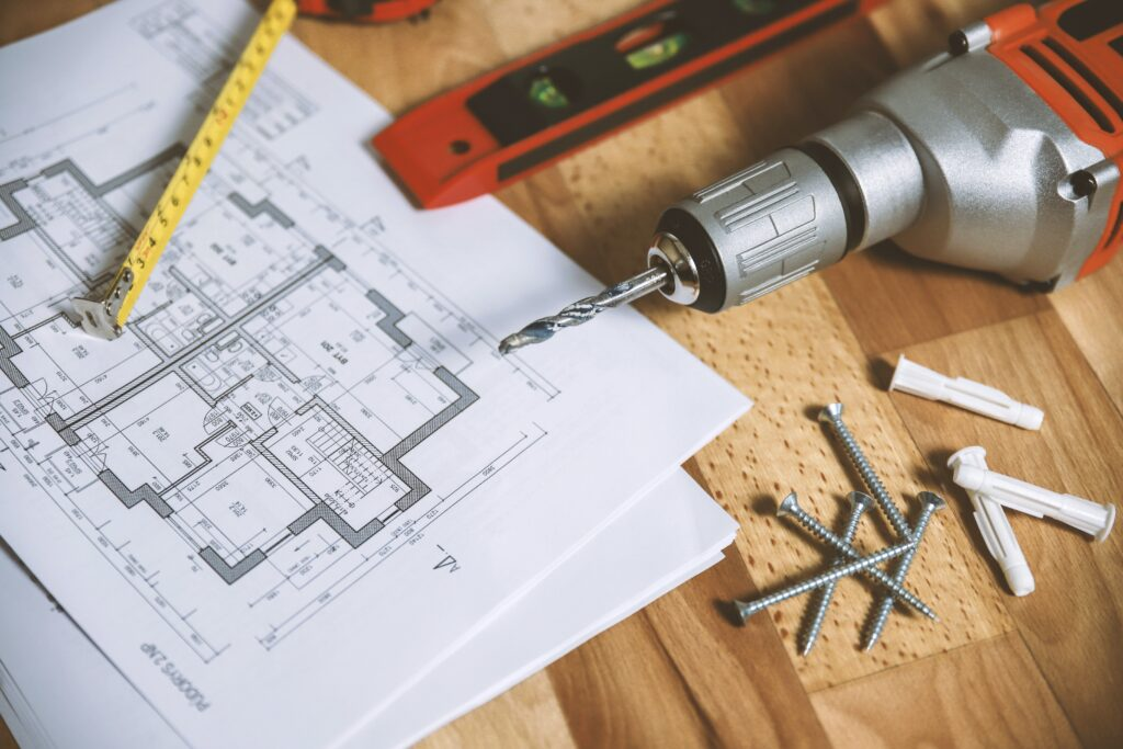 Commercial renovation plans