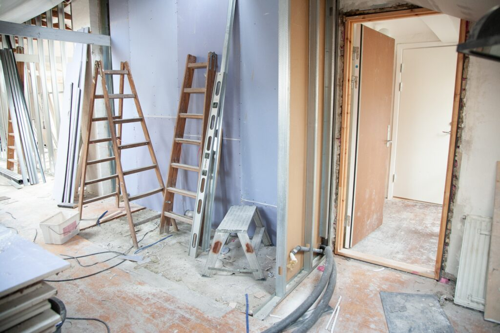 Residential remodeling project